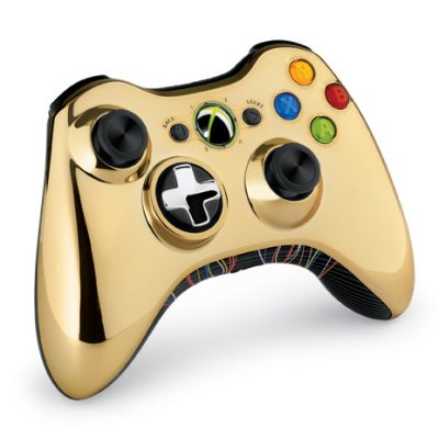 "The Xbox 360 limited edition ""Kinect Star Wars"" bundle will come equipped with a gold C-3PO-themed Xbox 360 wireless controller."