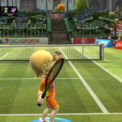 A screenshot from DECA SPORTS FREEDOM, a new game for XBOX 360.