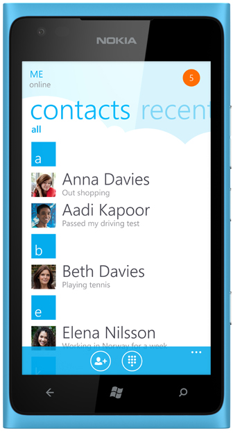 Skype for Windows Phone will make it easy to connect with the people you care about most.