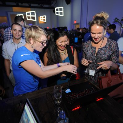 Windows 10 fans experience the new Windows in New York City