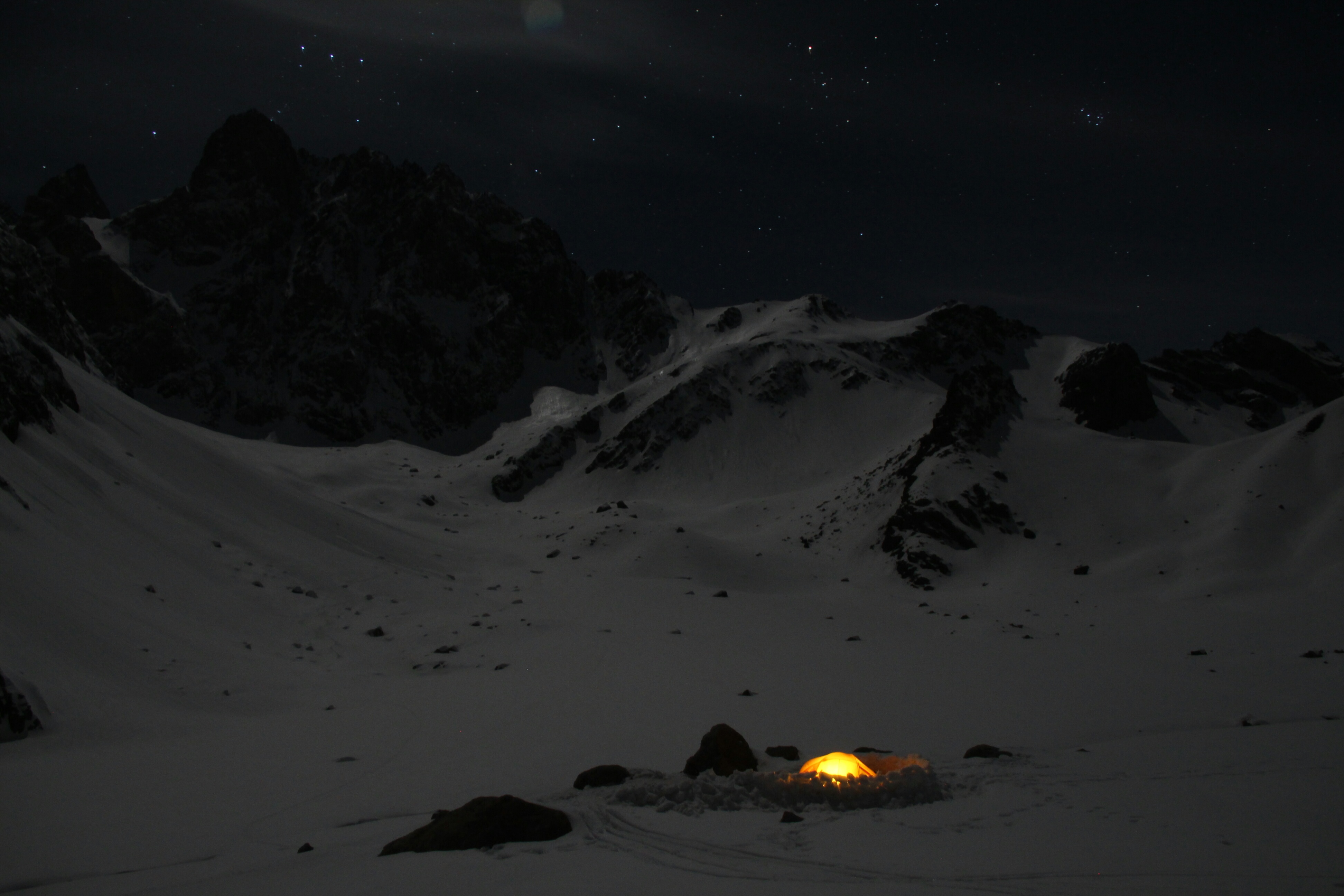 """Camping in the """"Heaven and Hell"""" valley, Cilo Dag Mountains, Turkey"""