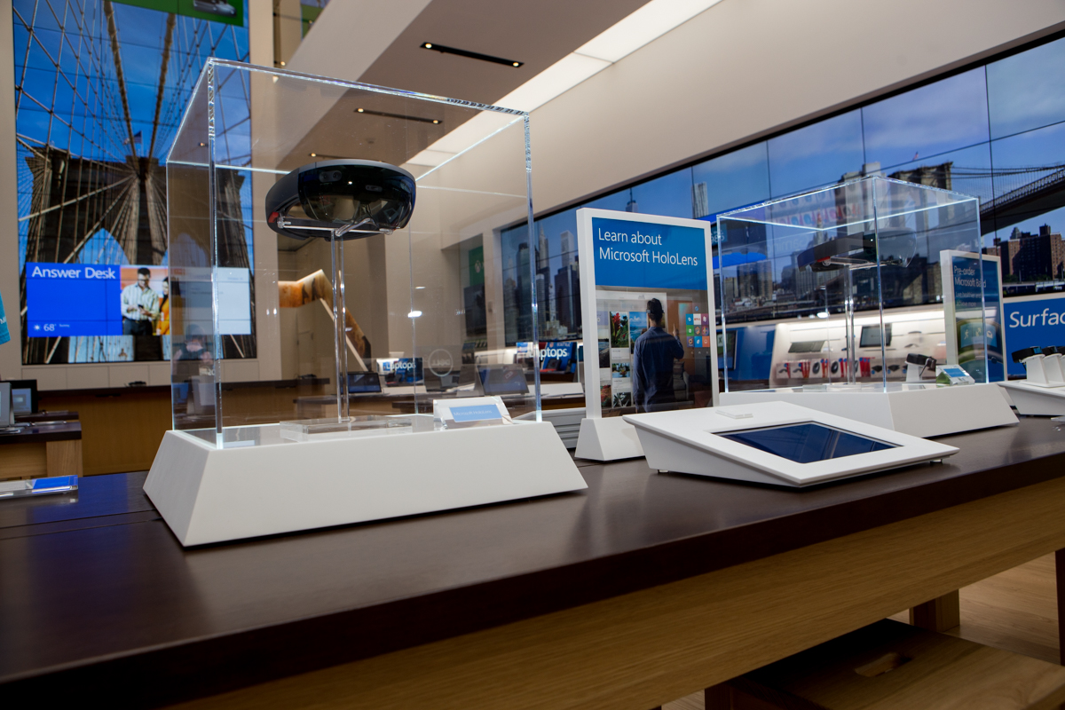 Microsoft Flagship Store in New York City.