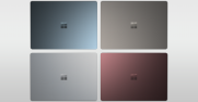 Surface Laptop's four rich tone-on-tone colors were inspired by blending seasonal relevance with timelessness.