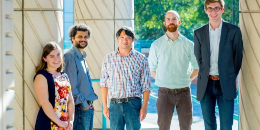 Five members of the University of Washington Data Science for Social Good team