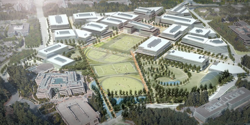 photo microsoft office redmond washington. Microsoft Is Embarking On A Major Redevelopment At Its Headquarters In Redmond, Washington. The Project Expected To Take Five Seven Years And Will Photo Office Redmond Washington N