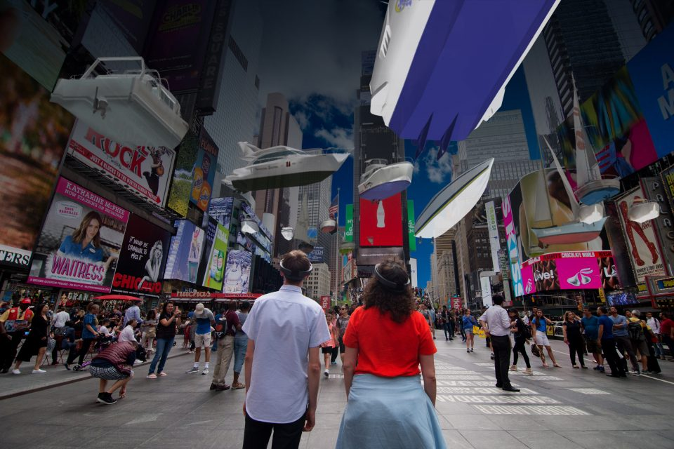 'Unmoored': Times Square installation shows how artists can anchor storytelling with mixed reality