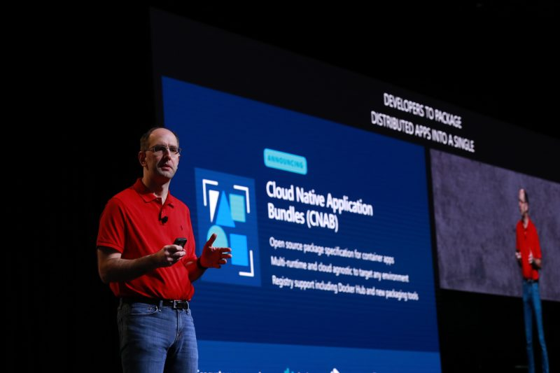 Microsoft EVP Scott Guthrie announces the CNAB specification in partnership with Docker