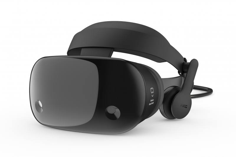 The Samsung HMD Odyssey makes set up quick and easy and delivers a premium virtual reality experience, with superior picture quality and high resolution display taking consumers to new virtual limits.