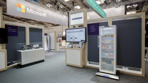 Liebherr Domestic Appliances collaborates with Microsoft to build new smart fridge for medicine
