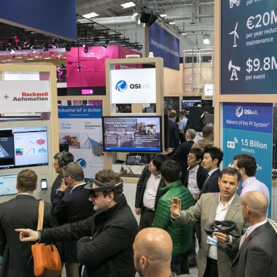 Hannover Messe 2017: Microsoft Stand (OSIsoft)