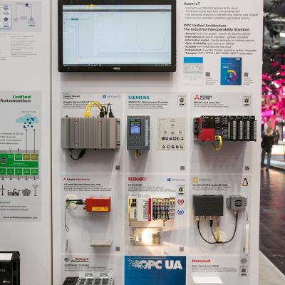 Hannover Messe 2017: Microsoft Stand