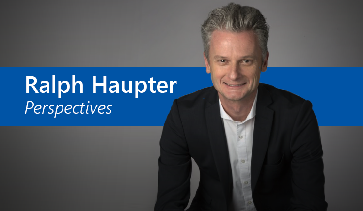 Ralph Haupter: Perspectives