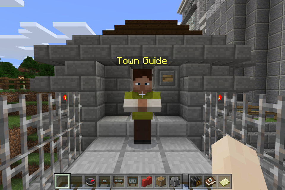 Does the xbox minecraft have Npc villages - answers.com