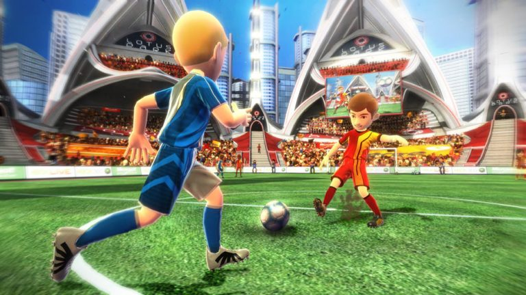 Turn your living room into a world-class stadium, bowling alley, soccer pitch or arena. With Kinect Sports you're not only the star player, you are the controller.