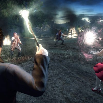 A screenshot from Harry Potter and the Deathly Hallows – Part 1 The Videogame, a new game for XBOX 360.