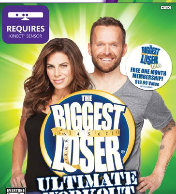 Boxshot of The Biggest Loser Ultimate Workout, a new game for XBOX 360.