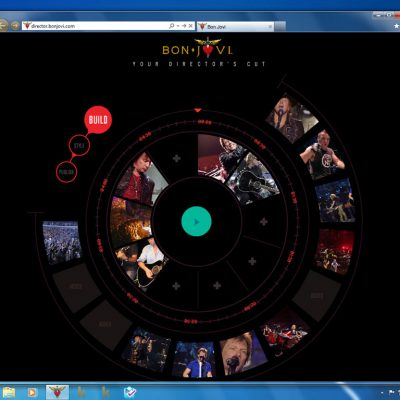 """The """"Bon Jovi Video Director"""" lets customers build their own Bon Jovi concert experience. With hardware acceleration, web video like """"Bon Jovi Video Director"""" performs more smoothly."""
