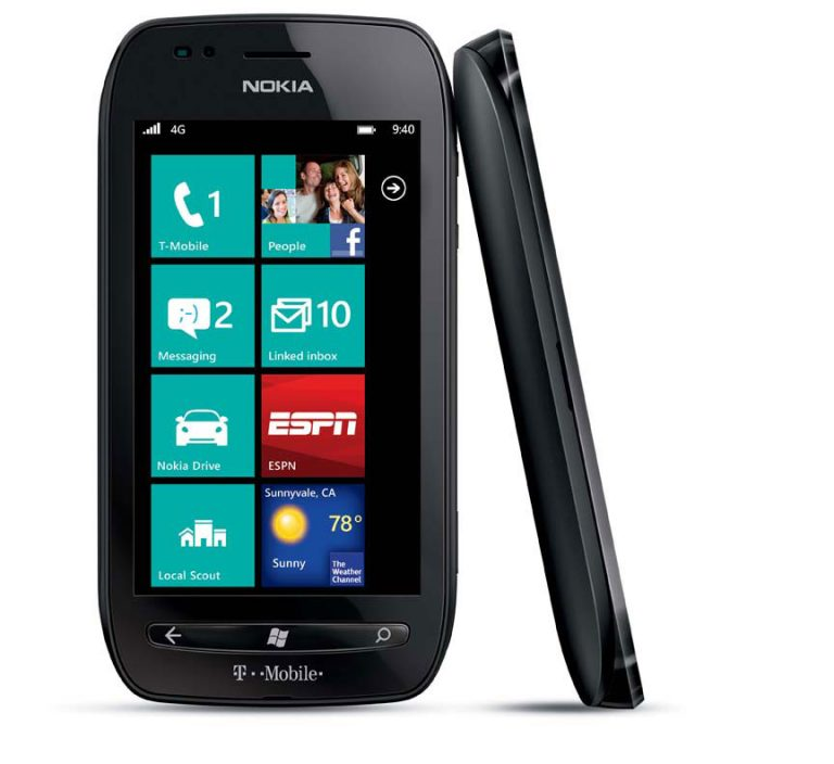 The Nokia Lumia 710 features a 3.7-inch ClearBlack WVGA full-touch display for outstanding outdoor viewing and a Qualcomm 1.4GHz Snapdragon processor, providing speedy access to entertainment and information on the go.