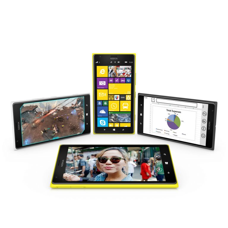"The Nokia Lumia 1520 is the first 6"" smartphone running on Windows Phone, featuring a 20MP camera and the latest imaging innovations to make high quality imaging even easier."