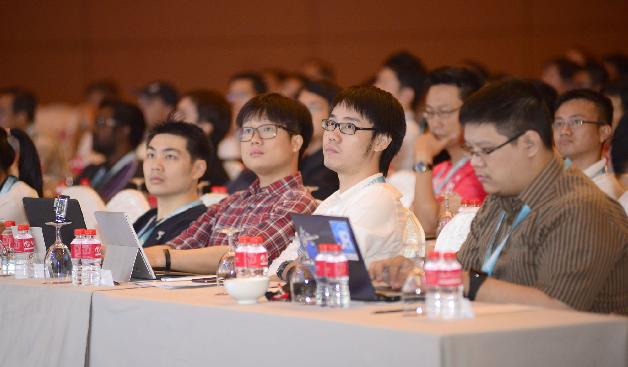 More than 400 developers took part in the Build Singapore conference. Members of the media were also invited to attend the event.