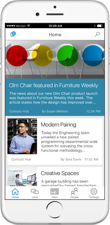 2016 May 4 Future of SharePoint -New SP mobile app iOS