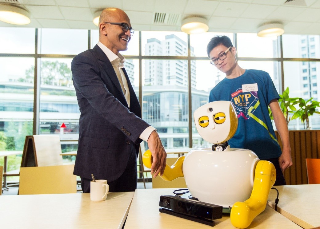 Presenting Ruth, the Social Robot: Imagine Cup World Finalists Share