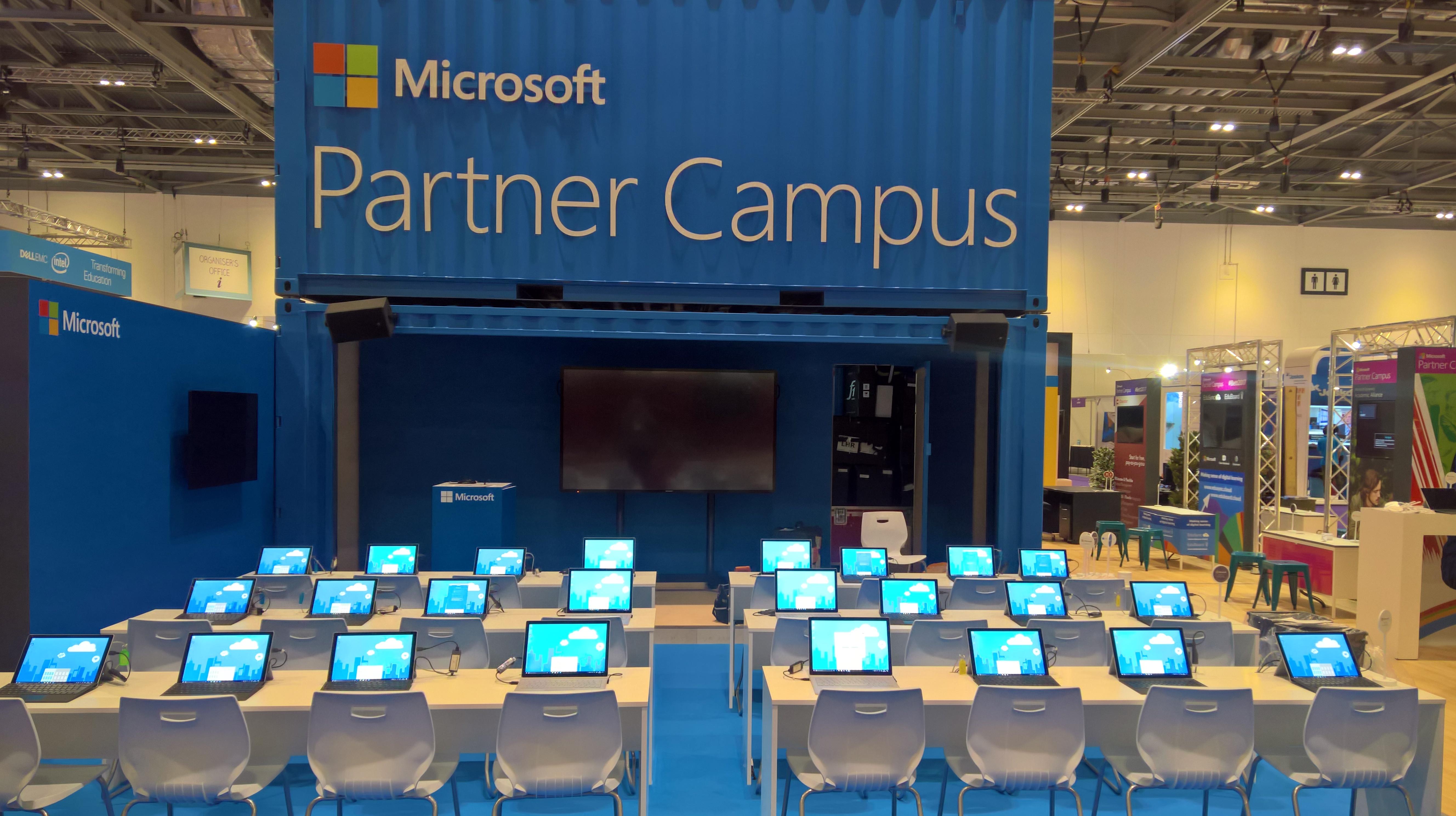 Microsoft's Partner Campus at BETT