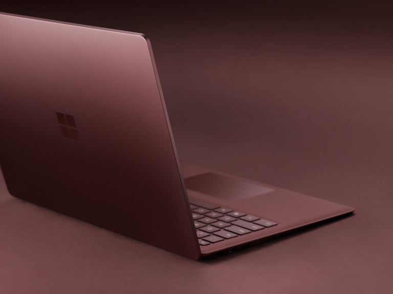 Every detail of Surface Laptop's clean and elegant design was crafted to bring new form and function to the classic laptop.