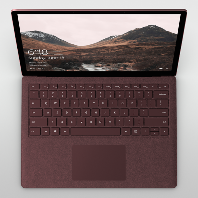 Surface Laptop is meticulously crafted to balance performance and portability with premium design and materials.
