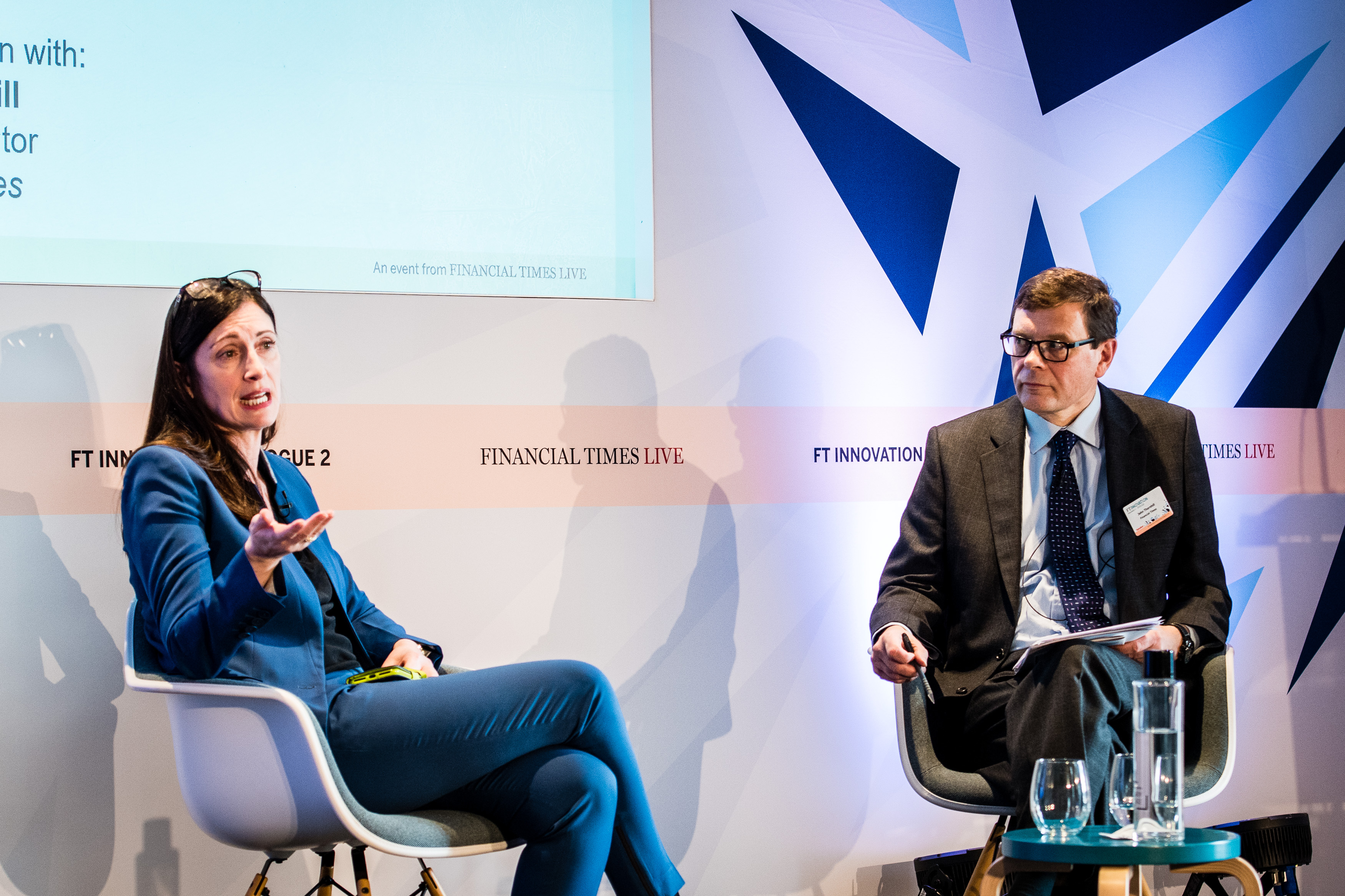 Microsoft Uk CEO Cindy Rose at FT Innovate event in London