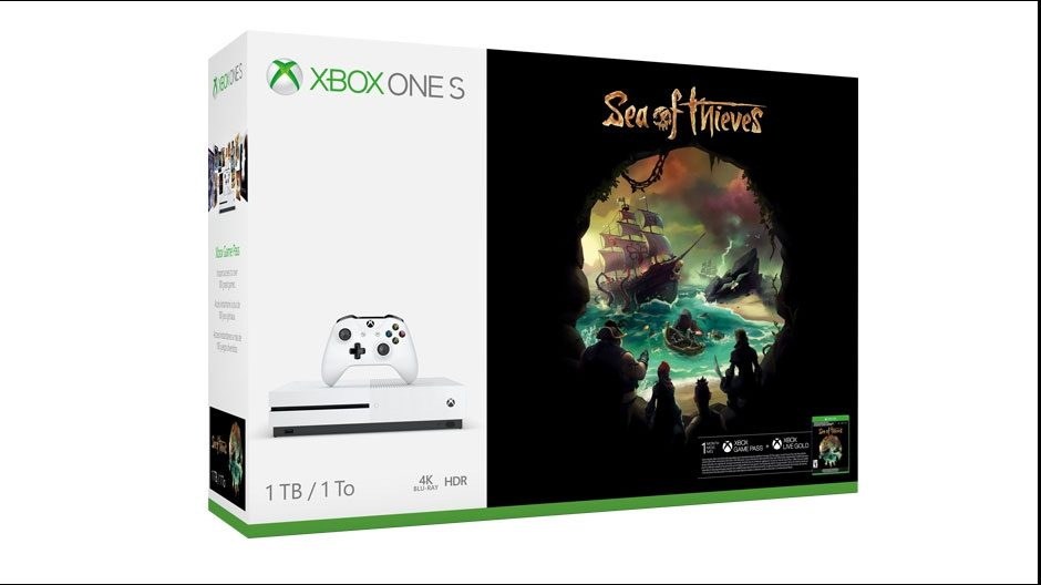 Pack Xbox One S Sea of Thieves