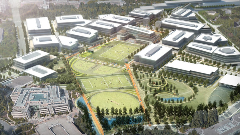 New Redmond campus plan unveiled