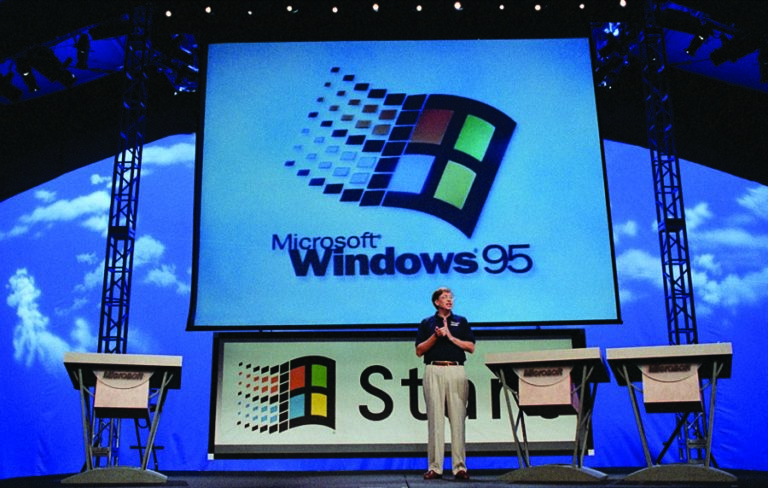 Launch of Windows 95