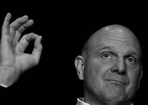 Steve Ballmer named CEO