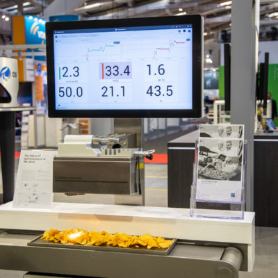 Zeiss Corona machine demo at Hannover Messe 2019