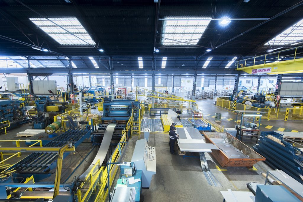 thyssenkrupp Materials Services warehouse