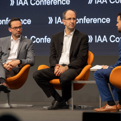 IAA Keynote with Christian Senger and Scott Guthrie