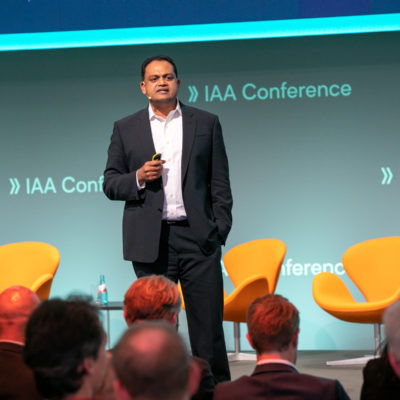 Sanjay Ravi on Ideas Stage at IAA