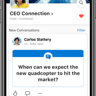 SharePoint Communities in Yammer for iOS