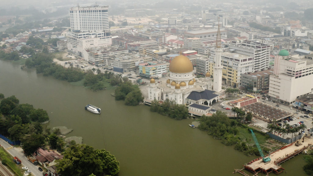The Klang river in Malaysia