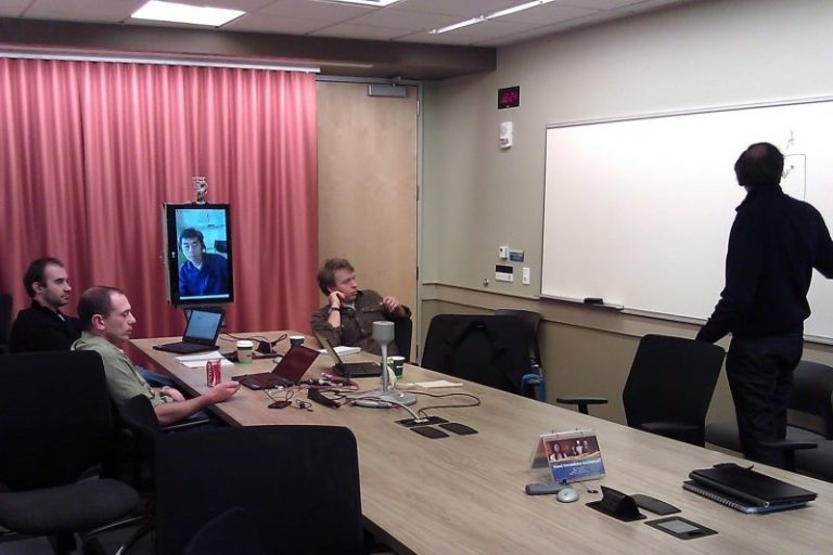 One person attending virtually with four others