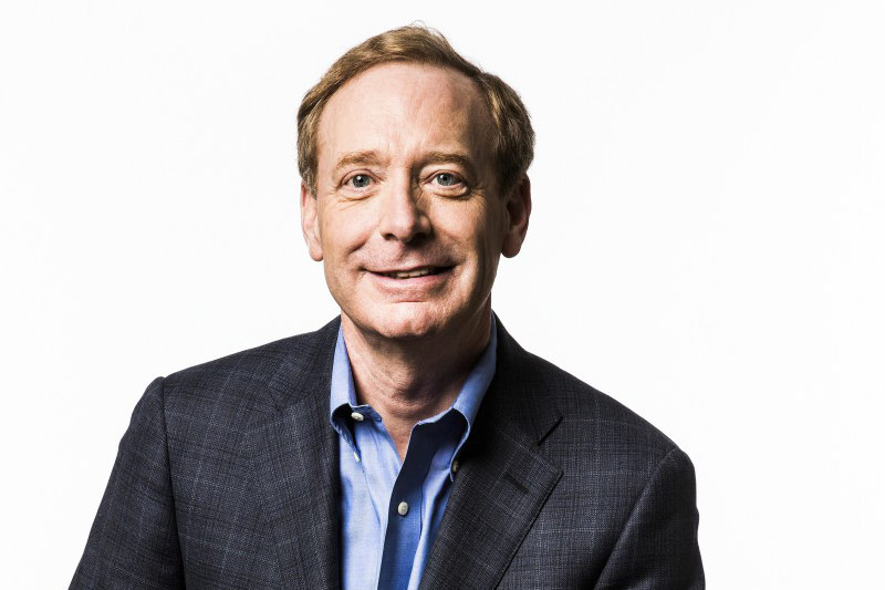 Brad Smith, President of Microsoft. Photo Credit: Microsoft