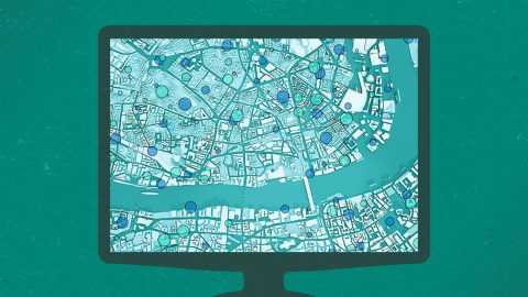 Covid map of london