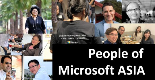 People of Microsoft Asia