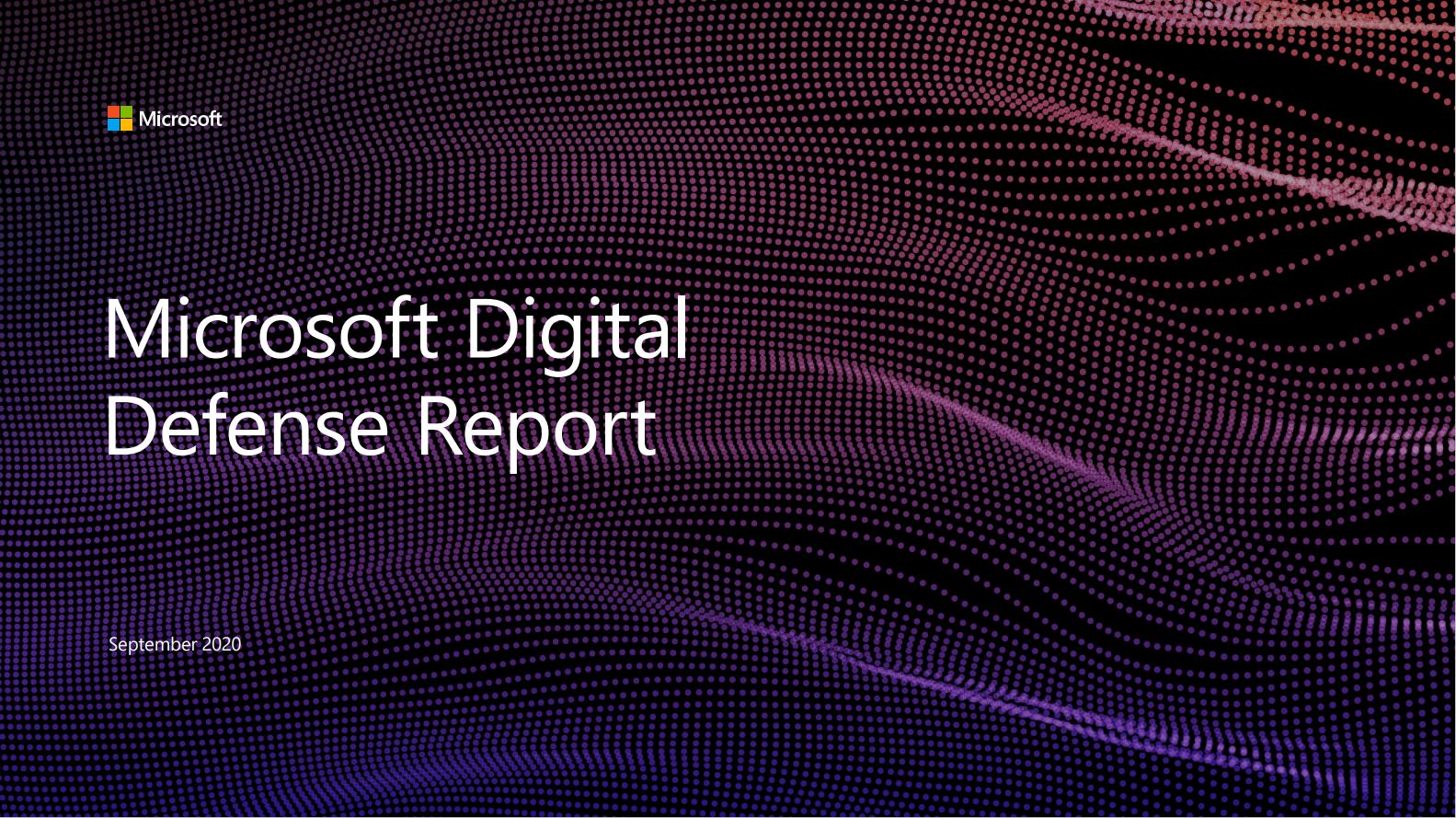 Microsoft Digital Defense Report Picture