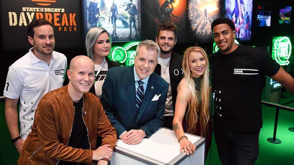 Команда Xbox на gamescom