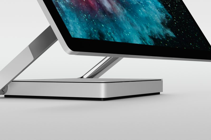 The new Surface Studio 2 has 50 percent faster1 file handling than its predecessor with full SSD hard drives.