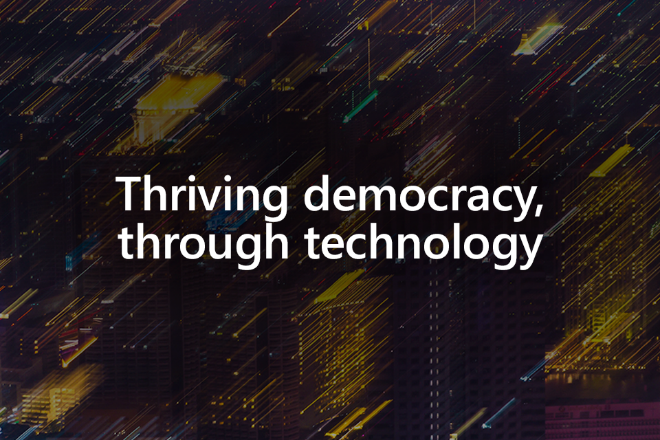 Securing democracy in the digital age