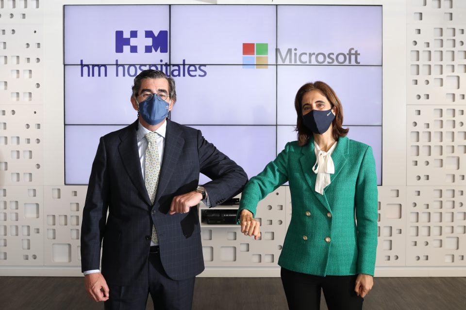 HM Hospitales y Microsoft firman una alianza estratégica para avanzar en la ciencia del dato en el ámbito de la salud