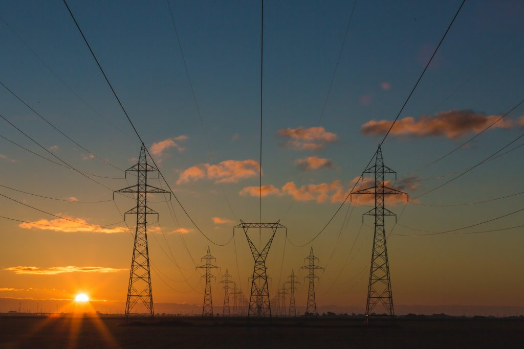 Image of power lines
